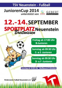 JuniorenCup2014_Plakat140901