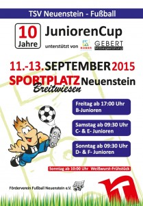 Plakat JuniorenCup 2015