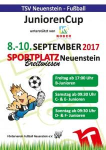 Plakat JuniorenCup 2017