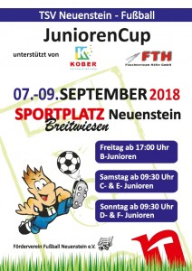 Plakat JuniorenCup 2018