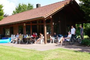 Reges Treiben: Der Finaltag der Vereinsmeisterschaften fand bei herrlichem Sommerwetter statt.