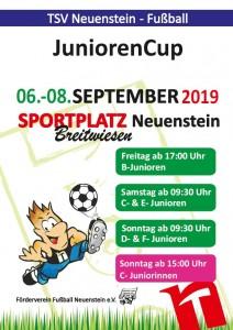 Plakat JuniorenCup 2019