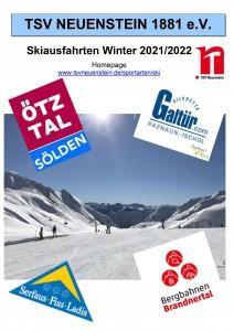 Deckblatt Saison 2021-2022
